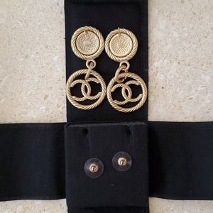 CHANEL Jewelry - Authentic Chanel Earrings